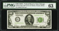 Fr. 2151-G $100 1928A Light Green Seal Federal Reserve Note. PMG Choice Uncirculated 63