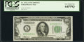 Fr. 2152-A $100 1934 Dark Green Seal Federal Reserve Note. PCGS Very Choice New 64PPQ