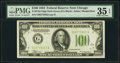 Fr. 2152-G $100 1934 Dark Green Seal Federal Reserve Note. PMG Choice Very Fine 35 EPQ