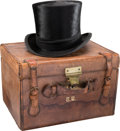 Political:Presidential Relics, Theodore Roosevelt: Personally-Owned Top Hat. High...