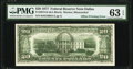 Full Face to Back Offset Error Fr. 2072-K $20 1977 Federal Reserve Note. PMG Choice Uncirculated 63 EPQ