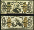 Fr. 1339 50¢ Third Issue Spinner Type II About New; Fr. 1366 50¢ Third Issue Justice Very Fine. ... (Total: 2...