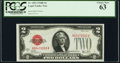Small Size:Legal Tender Notes, Fr. 1503 $2 1928B Legal Tender Note. PCGS Choice New 63.. ...