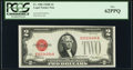 Small Size:Legal Tender Notes, Fr. 1506 $2 1928E Legal Tender Note. PCGS New 62PPQ.. ...