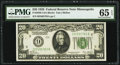 Fr. 2050-I $20 1928 Federal Reserve Note. PMG Gem Uncirculated 65 EPQ