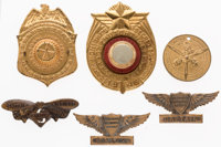 Radio Premiums Group of 6 (Various Manufacturers, 1934-46).... (Total: 6 Items)