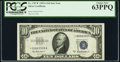 Fr. 1707* $10 1953A Silver Certificate Star. PCGS Choice New 63PPQ