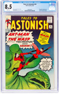 Silver Age (1956-1969):Superhero, Tales to Astonish #44 (Marvel, 1963) CGC VF+ 8.5 White pages....