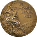 Miscellaneous Collectibles:General, 1936 Berlin Summer Olympics Gold Medal Presented to American Basketball Team Captain Bill Wheatley....