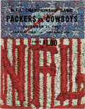Football Collectibles:Programs, 1967 Green Bay Packers Team Signed Ice Bowl (NFL Championship Game) Program. ...