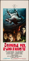 Movie Posters:Horror, Five Dolls for an August Moon & Other Lot (P.A.C., 1970). ...