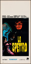 "Movie Posters:Horror, The Ghost & Other Lot (Jumbo, R-1960s). Folded, Very Fine-. Italian Locandinas (2) (13.25"" X 27.75"") Enrico De Seta Artwork.... (Total: 2 Items)"