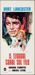 """Movie Posters:Film Noir, Sorry, Wrong Number & Other Lot (Alpherat, R-1970s). Folded, Very Fine-. Italian Locandinas (2) (13"""" X 27"""") Luciano Crovato.... (Total: 2 Items)"""