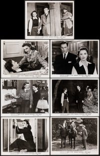 "Cry Wolf & Other Lot (Warner Bros., 1947). Overall: Fine/Very Fine. Photos (18) (8"" X 10""). Mystery..."