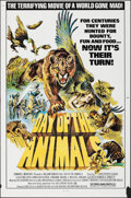 "Movie Posters:Horror, Day of the Animals (Film Ventures International, 1977). Folded, Overall: Very Fine-. One Sheets (2) (27"" X 41"") & Poster (9""... (Total: 3 Items)"