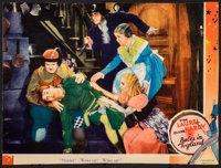 """Babes in Toyland (MGM, 1934). Fine-. Trimmed Lobby Card (9.5"""" X 13""""). Comedy"""