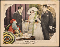 "Almost a Lady (Producers Distributing Corp., 1926). Very Fine-. Lobby Card (11"" X 14""). Comedy"