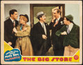 Movie Posters:Comedy, The Big Store (MGM, 1941). Very Good/Fine. Lobby C...