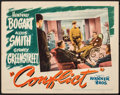 Movie Posters:Film Noir, Conflict (Warner Bros., 1945). Fine/Very Fine. Lob...