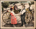 "Movie Posters:Western, The Galloping Kid (Universal, 1922). Fine/Very Fine. Lobby Card (11"" X 14""). Western.. ..."