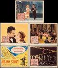 "Movie Posters:Drama, The Jolson Story (Columbia, 1946). Very Fine-. Title Lobby Card & Lobby Cards (4) (11"" X 14""). Drama.. ... (Total: ..."