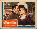 """Movie Posters:Comedy, My Little Chickadee (Universal, 1940). Very Fine. Autographed Lobby Card (11"""" X 14""""). Comedy.. ..."""