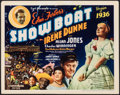 """Movie Posters:Musical, Show Boat (Universal, 1936). Fine/Very Fine. Title Lobby Card (11"""" X 14""""). Musical.. ..."""