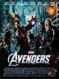 "Movie Posters:Science Fiction, The Avengers (Paramount, 2012). Folded, Very Fine+. French Grande (47"" X 63""). Science Fiction.. ..."