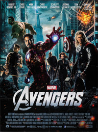 "The Avengers (Paramount, 2012). Folded, Very Fine+. French Grande (47"" X 63""). Science Fiction"