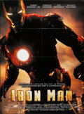 """Movie Posters:Science Fiction, Iron Man (SND Films, 2008). Folded, Very Fine+. French Grande (47"""" X 63""""). Science Fiction.. ..."""