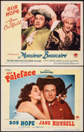 "Movie Posters:Comedy, The Paleface & Other Lot (Paramount, 1948). Very Fine-. Lobby Cards (2) (11"" X 14""). Comedy.. ... (Total: 2 Items)"