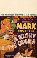 Movie Posters:Comedy, A Night at the Opera (MGM, 1935). Fine+ on Cardstock.
