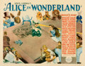 Movie Posters:Fantasy, Alice in Wonderland (Paramount, 1933). Very Good on Paper....