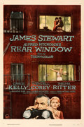 Movie Posters:Hitchcock, Rear Window (Paramount, 1954). Very Fine- on Linen.