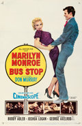 """Movie Posters:Drama, Bus Stop (20th Century Fox, 1956). Very Fine on Linen. One Sheet (27"""" X 41""""). . ..."""