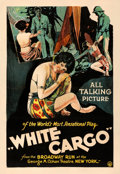 Movie Posters:Drama, White Cargo (BIP, 1930). Fine- on Linen. One Sheet...