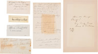 Woman's Suffrage: Autographs of Prominent Suffragettes