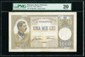 World Currency, Romania Banca Nationala a Romaniei 1000 Lei 15.3.1934 Pick 37a PMG Very Fine 20.. ...