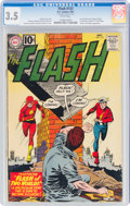 Silver Age (1956-1969):Superhero, The Flash #123 (DC, 1961) CGC VG- 3.5 White pages....