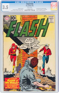 The Flash #123 (DC, 1961) CGC VG- 3.5 White pages
