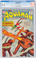 Silver Age (1956-1969):Superhero, Aquaman #1 (DC, 1962) CGC VG- 3.5 Off-white to white pages....