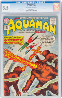 Aquaman #1 (DC, 1962) CGC VG- 3.5 Off-white to white pages