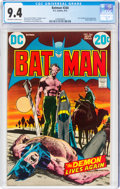 Bronze Age (1970-1979):Superhero, Batman #244 (DC, 1972) CGC NM 9.4 Off-white to white pages....