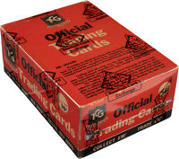 """Virtually Untouched 1953 Topps """"World On Wheels"""" Cello Box With 36 Unopened Packs - Fresh to the Hobby Find!..."""