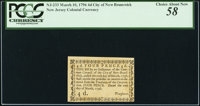 New Jersey- City of New Brunswick March 10, 1796 4d PCGS Choice About New 58