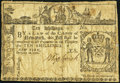 Colonial Notes:New York, New York February 16, 1771 10s Fine, backed.. ...
