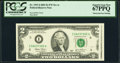 Obstructed Face Printing Error Fr. 1937-I $2 2003 Federal Reserve Note. PCGS Superb Gem New 67PPQ