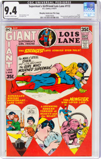 Superman's Girlfriend Lois Lane #113 Murphy Anderson File Copy (DC, 1971) CGC NM 9.4 Off-white to white pages