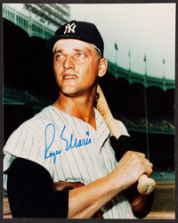 Roger Maris Signed 8x10 Photograph