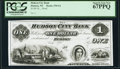 Obsoletes By State:Wisconsin, Hudson, WI- Hudson City Bank $1 18__ as G2 as Kraus G2 Proof PCGS Superb Gem New 67PPQ.. ...
